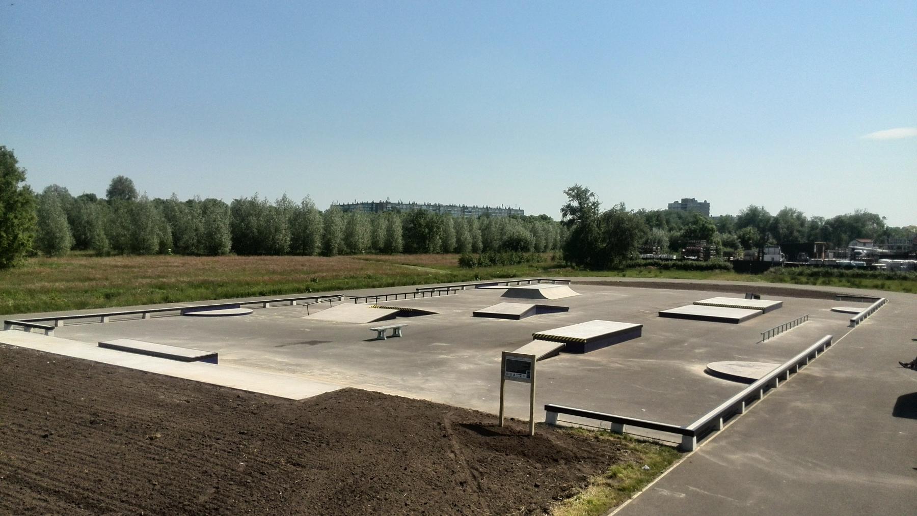 skatepark utrecht ruigenhoek polderpark shotcrete
