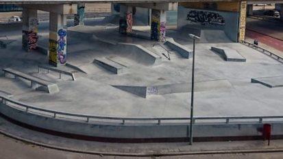 Dordrecht Dokweg SkatePark