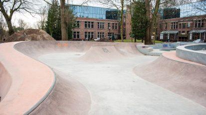Oosterpark skatepark/pauzelandschap Metis Montessori Lyceum
