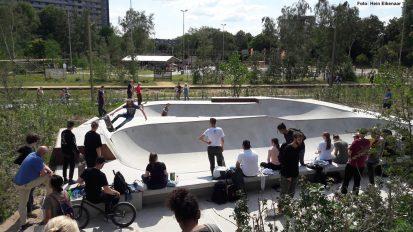 Skatepark Spoorpark Tilburg