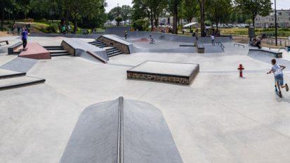 Skate- en graffitipark Spike